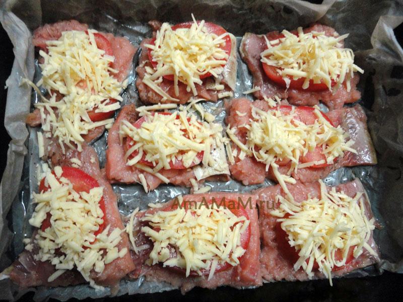 Рецепт красной рыбы в духовке с сыром