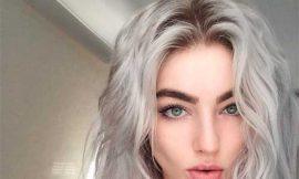 пепельных волос