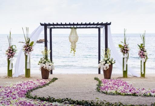 Свадебные арки – какие цветы выбрать?