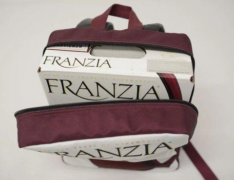 Franzia's Wine-Dispensing Backpack Is Your New Picnic BFF