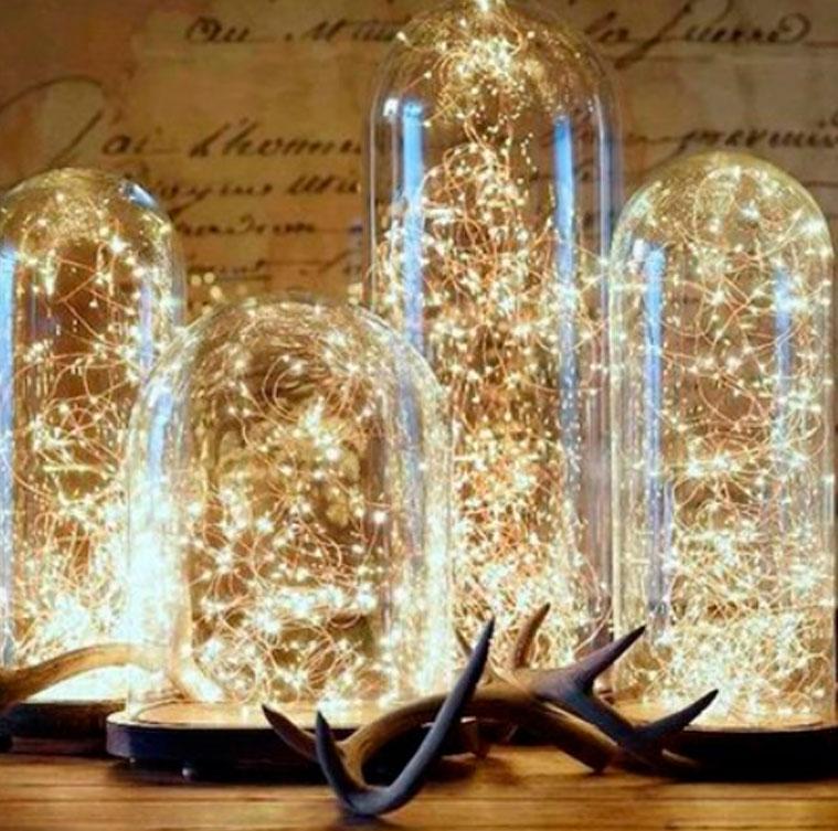 Волшебные огоньки на Новый год 2021