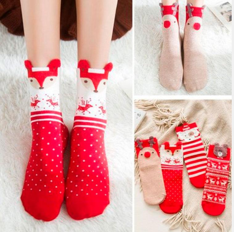 Забавные новогодние носки на Новый год 2021