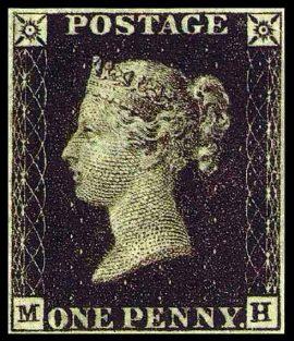 Самая Первая почтовая марка