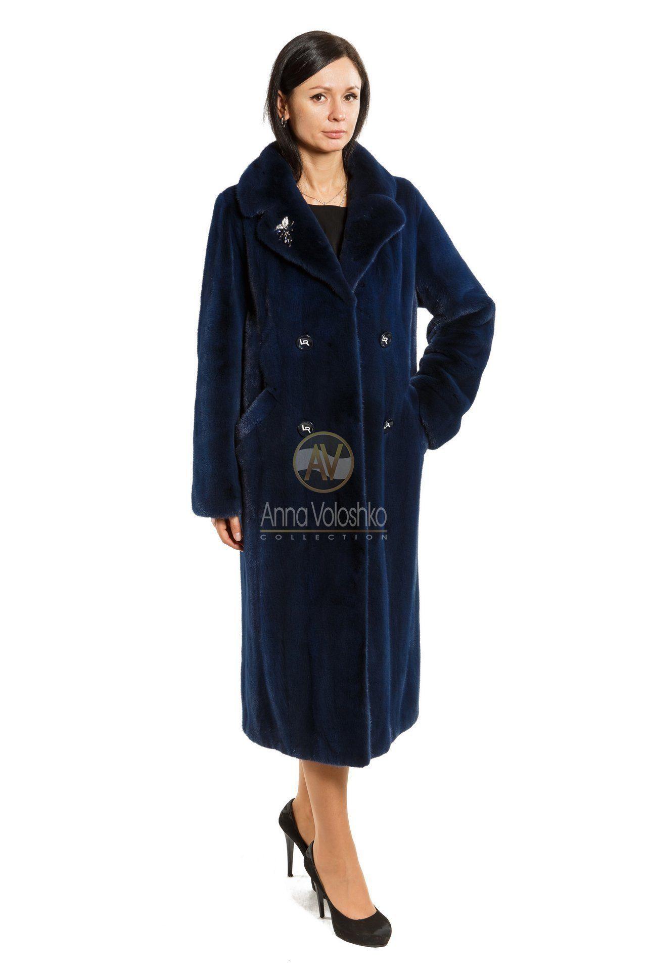 Причины заменить шубу на пальто из норки