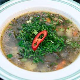 Суп-из-сайры