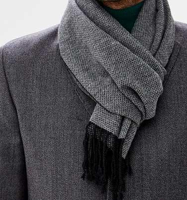мужской-шарф