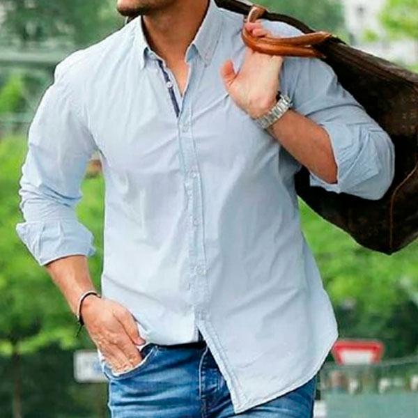 носить мужскую рубашку
