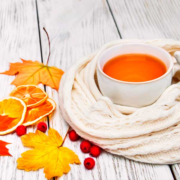 Какой чай пить осенью для здоровья