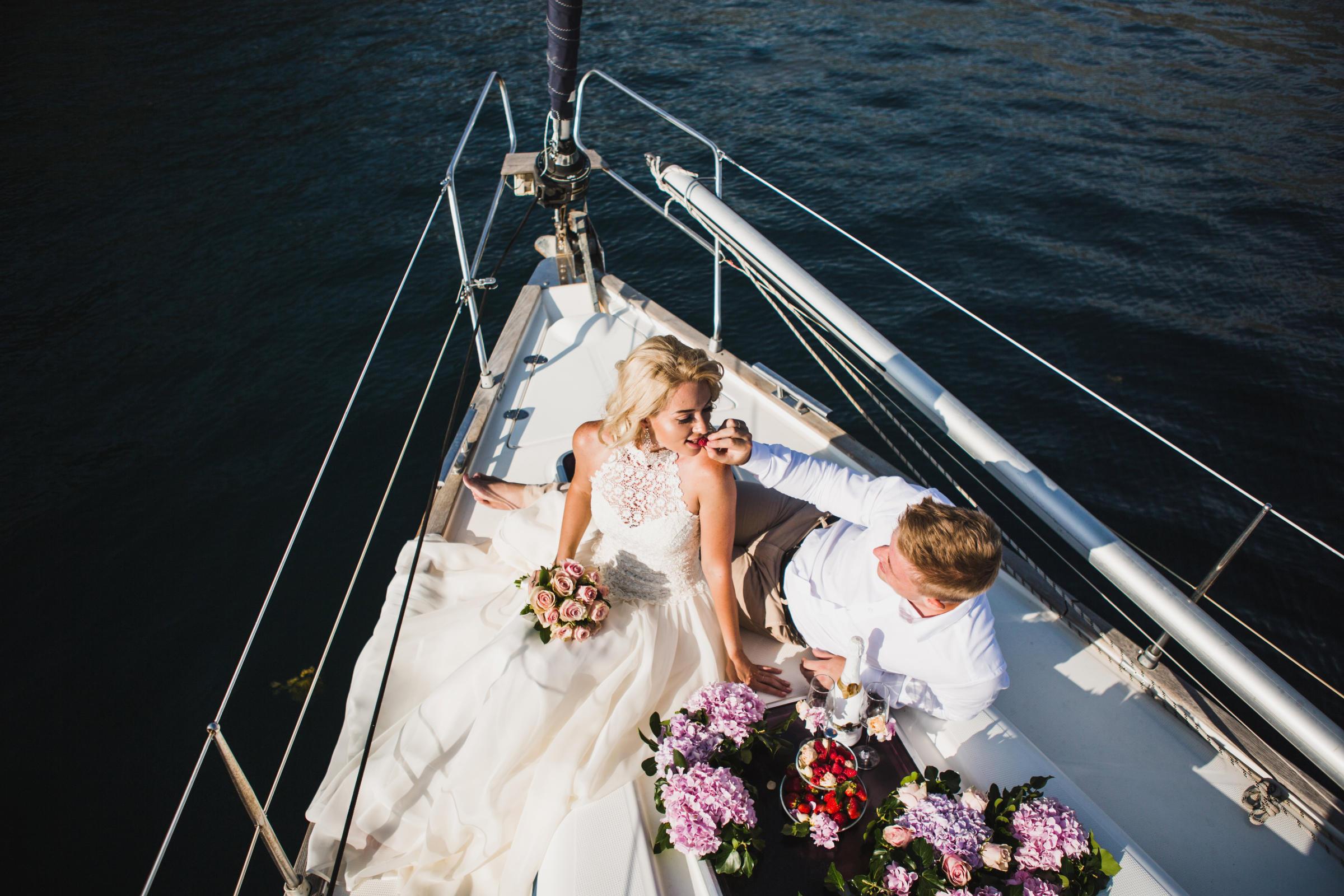 Открытие свадебного сезона в банкетных залах Yacht Event