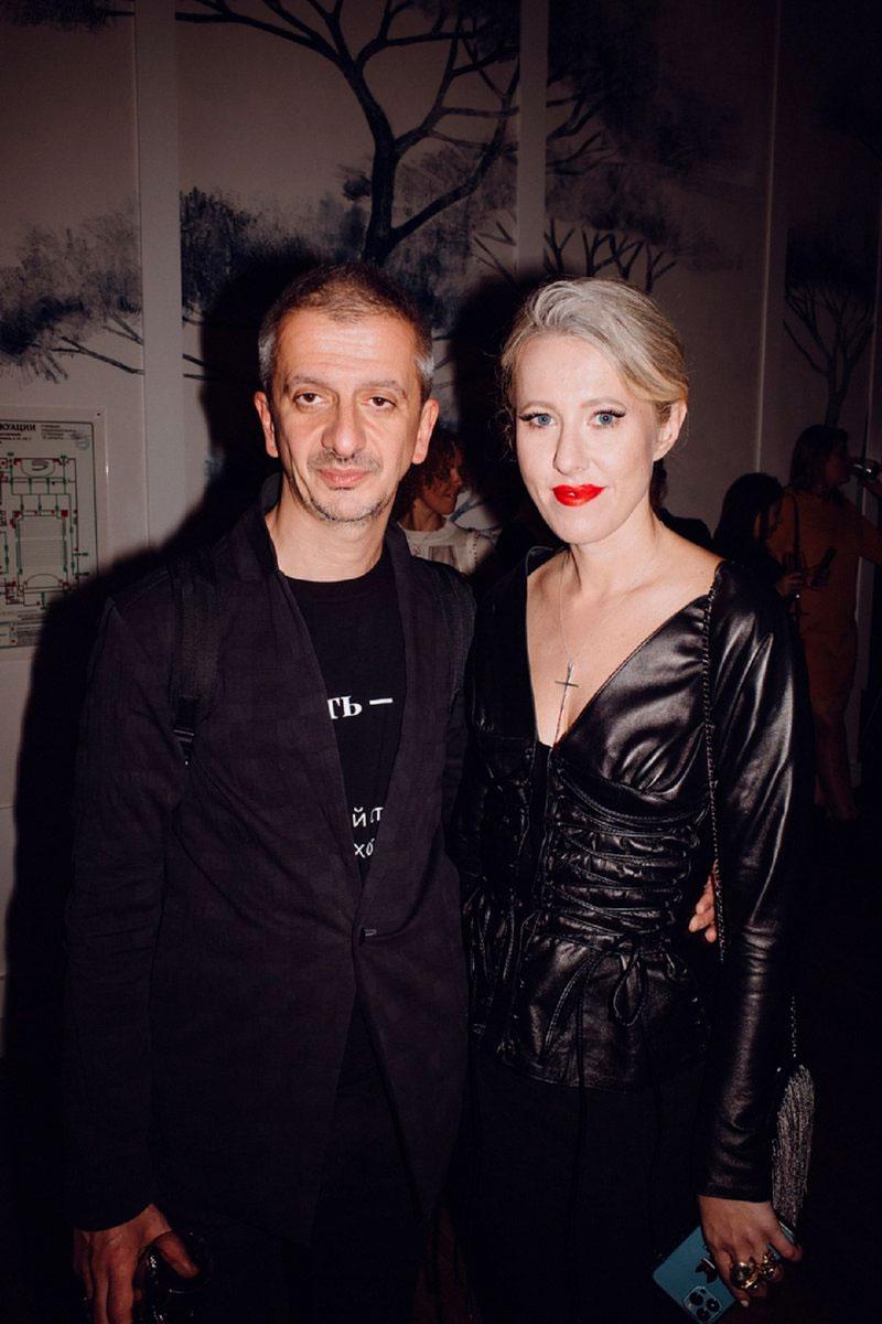 Константин Богомолов и Ксения Собчак в Художественном