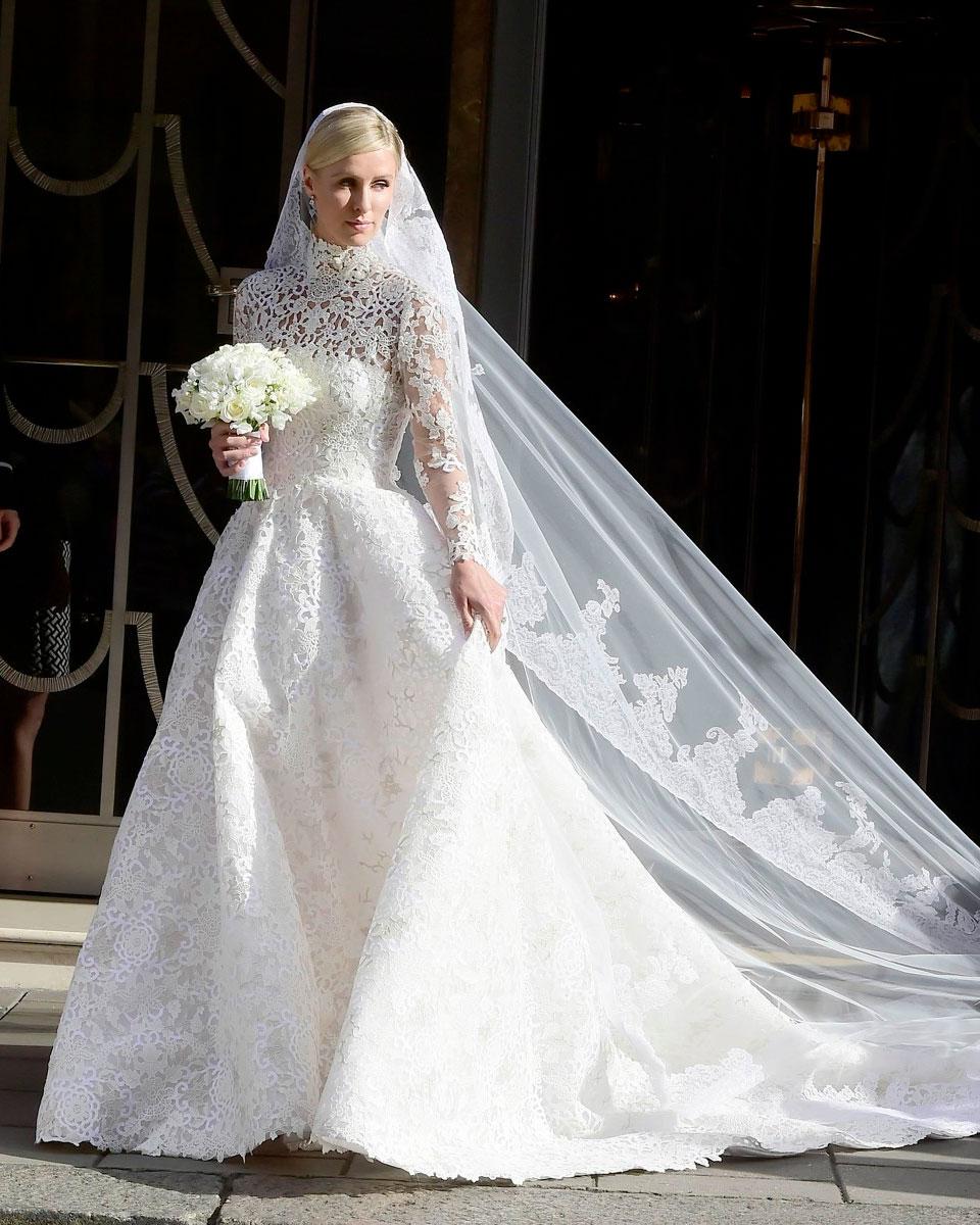 Никки Хилтон. Платье невесты Джеймса Ротшильда просто не может не быть роскошны