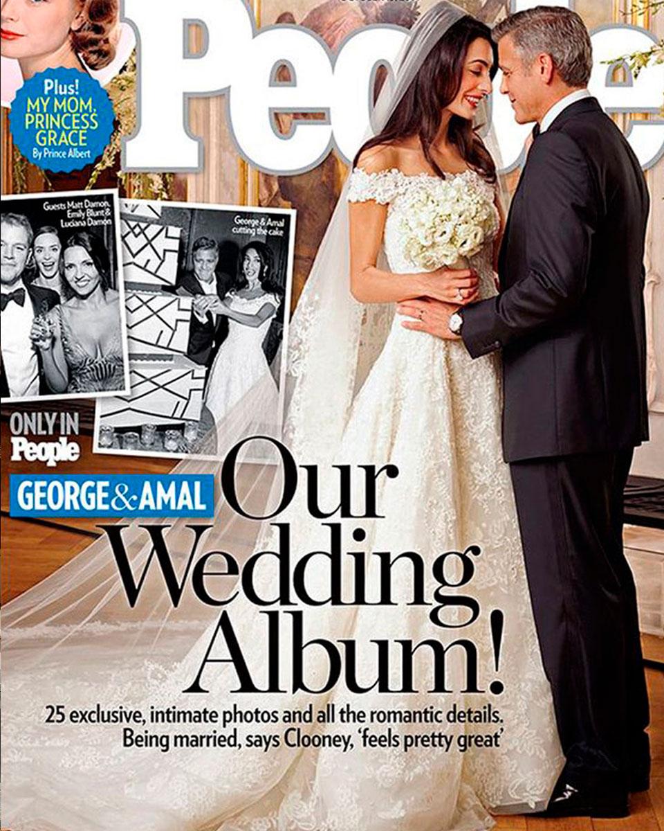 Амаль Клуни. Свадебным платьем звезды время от времени можно полюбоваться в музеях