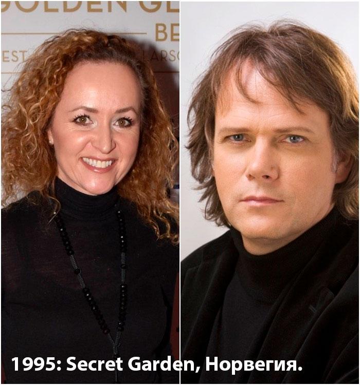 1995: Secret Garden,
