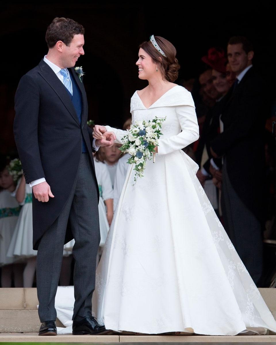 Принцесса Евгения. Наряд принцессы модные журналисты сравнивали с платьем Меган Маркл