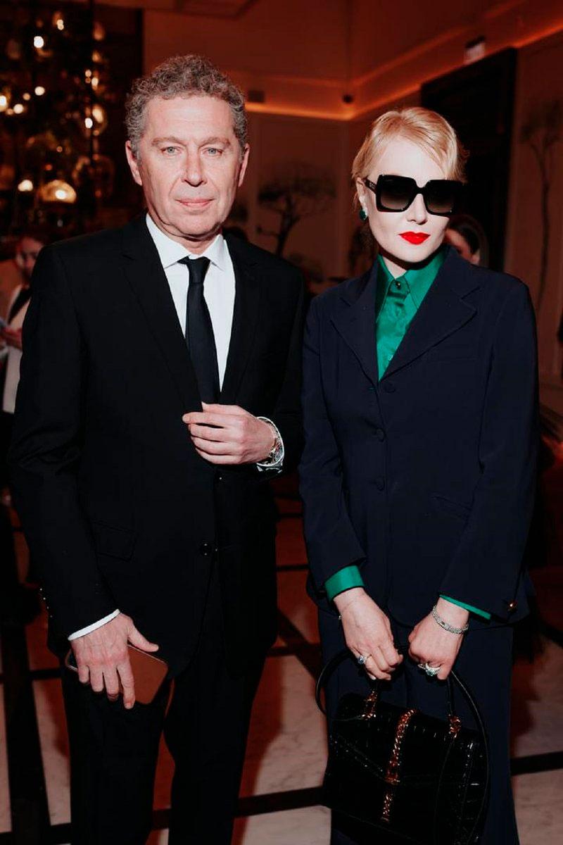 Александр Мамут и Рената Литвинова в Художественном